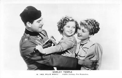 act020837 - Child Movie Star Shirley Temple Post Card Old Vintage Antique