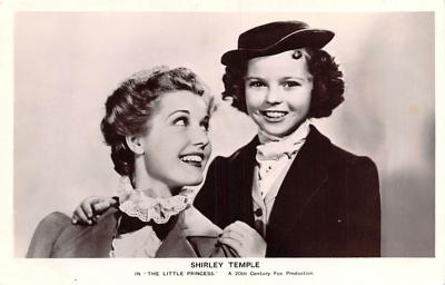 act020853 - Child Movie Star Shirley Temple Post Card Old Vintage Antique