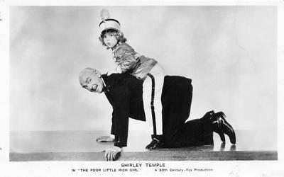 act020859 - Child Movie Star Shirley Temple Post Card Old Vintage Antique