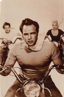 act500027 - Marlon Brando Movie Poster Postcard