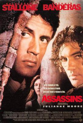 act500039 - Assassins Movie Poster Postcard