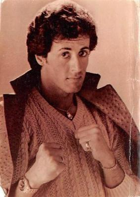 act500077 - Sylvester Stallone Movie Poster Postcard