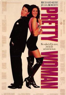 act500095 - Pretty Woman Movie Poster Postcard