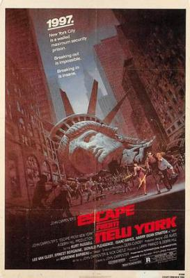 act500113 - Escape from New York Movie Poster Postcard