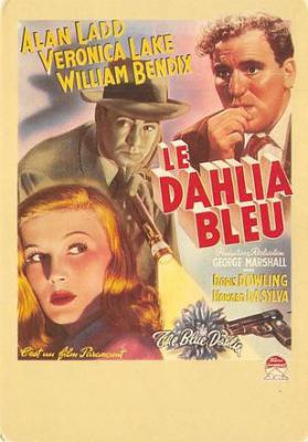 act500131 - Le Dahlia Bleu Movie Poster Postcard