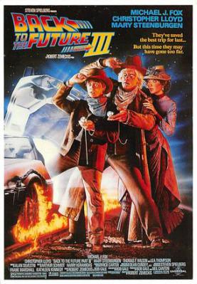 act500157 - Back to the Future III Movie Poster Postcard