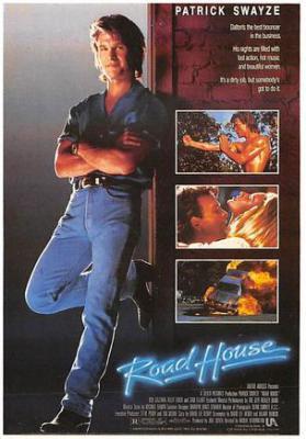 act500165 - Road House, Patrick Swayze Movie Poster Postcard
