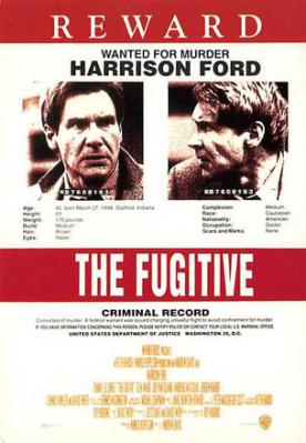 act500181 - The Fugitive Movie Poster Postcard