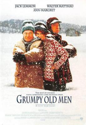 act500189 - Grumpy Old Men Movie Poster Postcard