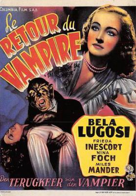 act500209 - Le Retour de Vampire Movie Poster Postcard