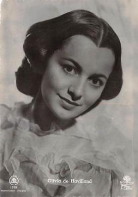 act500229 - Olivia de Havilland Movie Poster Postcard