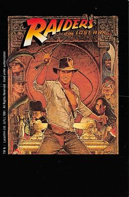 act500263 - Raiders of the Lost Ark Movie Poster Postcard