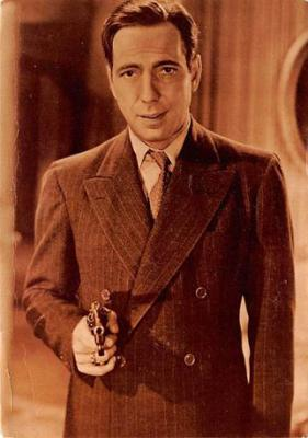 act500275 - Humphrey Bogart Movie Poster Postcard