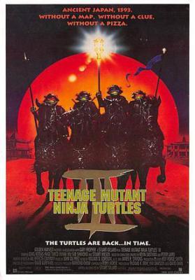 act500319 - Teenage Mutant Ninja Turtles Movie Poster Postcard