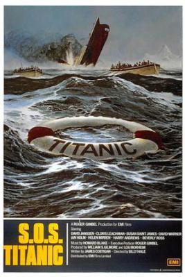 act500325 - S.O.S. Titanic Movie Poster Postcard