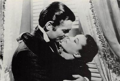 act500347 - Gone With the Wind Movie Poster Postcard