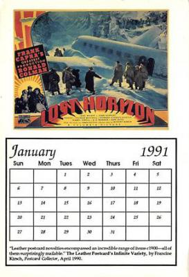 act500399 - Lost Horizon Movie Poster Postcard