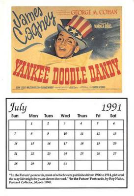 act500405 - Yankee Doodle Dandy Movie Poster Postcard