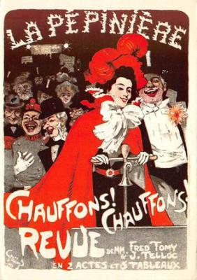 act500413 - La Pepiniere, Chauffons! Chauffons Revue Advertising Poster Postcard