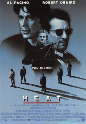 act500423 - Heat, Al Pacino, Robert DeNiro Movie Poster Postcard