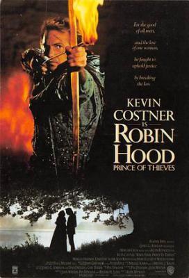 act500425 - Robin Hood, Kenin Costner Movie Poster Postcard