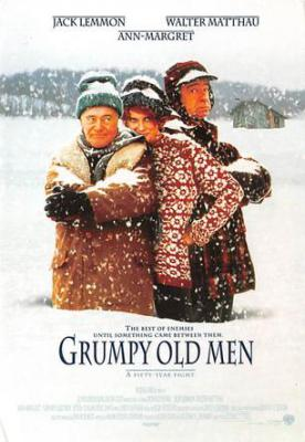 act500435 - Grumpy Old Men Movie Poster Postcard