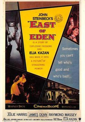 act500461 - East of Eden, John Steinbeck Movie Poster Postcard