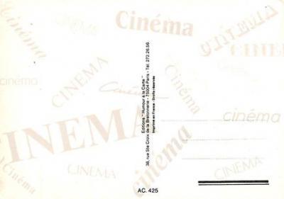 act500461 - East of Eden, John Steinbeck Movie Poster Postcard  back