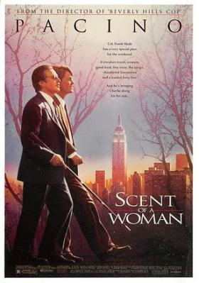 act500489 - Scent of a Woman, Al Pacino Movie Poster Postcard