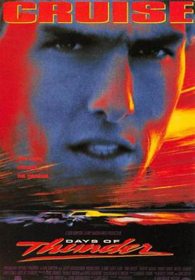 act500523 - Tom Cruise, Days of Thunder Movie Poster Postcard