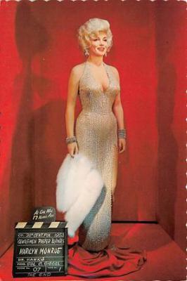 act500535 - Marilyn Monroe Movie Poster Postcard