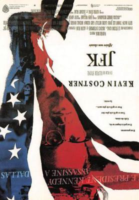 act500545 - JFK, Kevin Costner Movie Poster Postcard