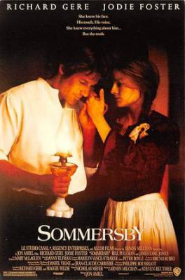 act500549 - Sommersby, Richard Gear, Jodie Foster Movie Poster Postcard