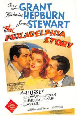act500583 - The Philadelphia Story, Cary Grant Movie Poster Postcard