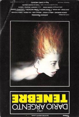 act500589 - Dario Argento, Tenebre Movie Poster Postcard