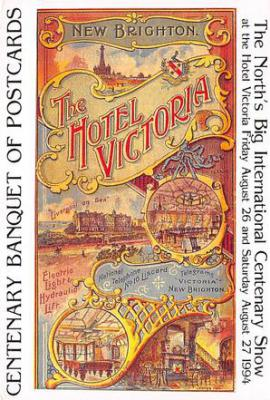 act500591 - The Hotel Victoria Advertising Poster Postcard