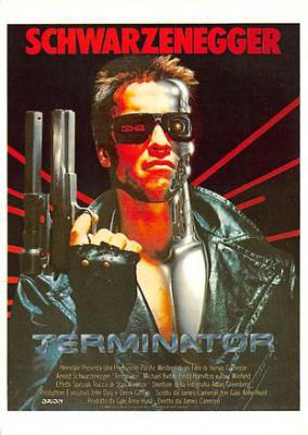 act500599 - Terminator Movie Poster Postcard