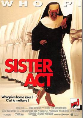 act500619 - Sister Act Movie Poster Postcard