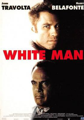 act500633 - White Man, John Travolta, harry Belafonte Movie Poster Postcard