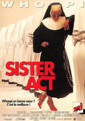 act500659 - Sister Act, Woopie Goldbeg Movie Poster Postcard