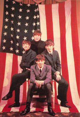 act500677 - The Beatles Movie Poster Postcard