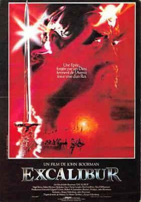 act500685 - Excalibur Movie Poster Postcard