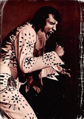 act500703 - Elvis Movie Poster Postcard
