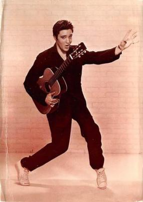 act500705 - Elvis Movie Poster Postcard