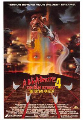 act500713 - A Nightmare on Elm Street 4 Movie Poster Postcard