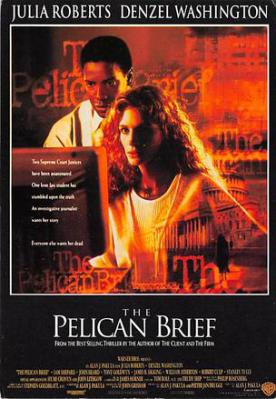act500729 - The Pelican Brief Movie Poster Postcard