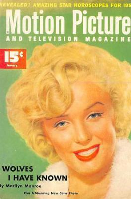 act500733 - Marilyn Monroe Movie Poster Postcard