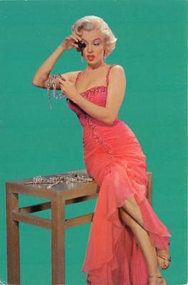 act500741 - Marilyn Monroe Movie Poster Postcard