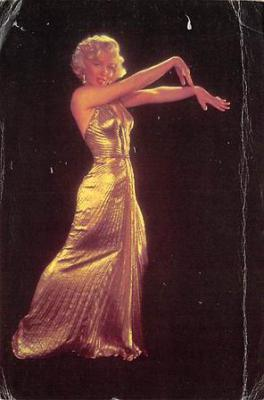 act500743 - Marilyn Monroe Movie Poster Postcard