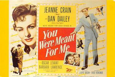 act500779 - You Were Meant For Me Movie Poster Postcard